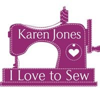 Karen Jones 'I Love To Sew'