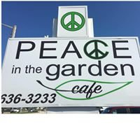 Peace in the Garden cafe