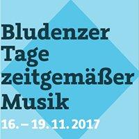 Bludenzer Tage zeitgemäßer Musik