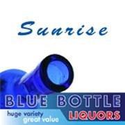 Sunrise Blue Bottle Liquor Somerset West