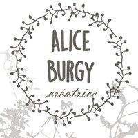 Alice Burgy Créatrice