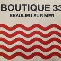 Boutique 33 beaulieu sur mer