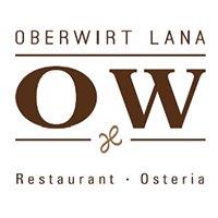 Osteria/Restaurant Oberwirt, Lana