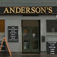 Andersons Bar, Edinburgh