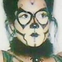 Angela's Abstract Face and Body Art