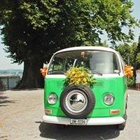 Hochzeits-VW-Bus