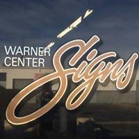 Warner Center Signs