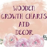Wooden Growth Charts and Decor