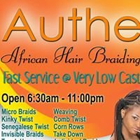 Authentic African Hair Braiding and Weaving