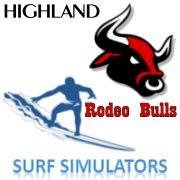 Highland Rodeo Bulls and Surf Simulators