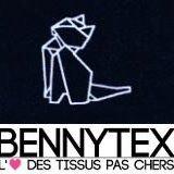 """Bennytex """"Tissus au mètre"""""""