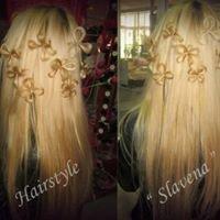 """Hairstyles """" Slavena """"  Прически """" Славена """""""