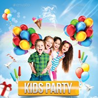 Ibiza kids party