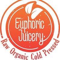 Euphoric Juicery Raw Cold Press 100% Organic Juices & Nut Mylks