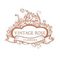 Vintage Rose Wedding Flowers & Bridal Wear