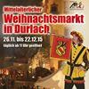 Mittelalterlicher Weihnachtsmarkt Durlach
