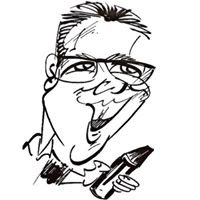 David Seery Caricatures