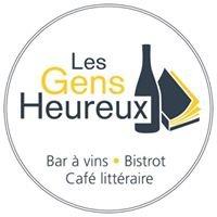 Bar à vins littéraire Les Gens Heureux