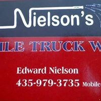 Nielson's mobile truck and detail wash