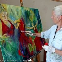 Malerier og skulpturer Original kunst fra HBH-Art