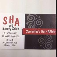 samanthas hair affair and beauty salon
