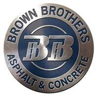 Brown Brothers Asphalt & Concrete