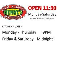 Henrys Great Alaskan Restaurant