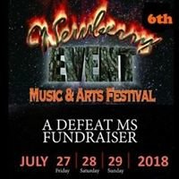 Newberry Event Music & Arts Festival to Defeat MS