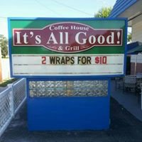 IT'S ALL GOOD! COFFEE HOUSE AND GRILL   in Port Orange, FL