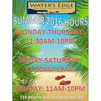 The Waters Edge Restaurant East Moriches
