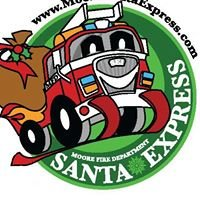 Moore Firefighters Santa Express
