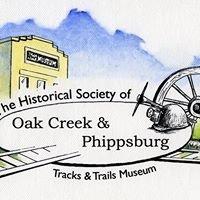 Historical Society of Oak Creek & Phippsburg, Tracks & Trails Museum