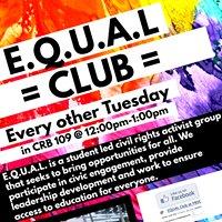 EQUAL Club at PBSC