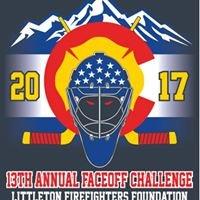 Littleton Firefighters Faceoff Hockey Challenge