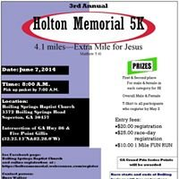 Holton Memorial 5K