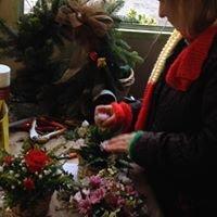 Burkes Floristry Stall