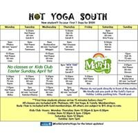 Gold's Gym Hot Yoga South