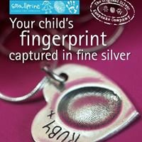 Smallprint HK - Pure Silver Fingerprint & Personalised Jewellery